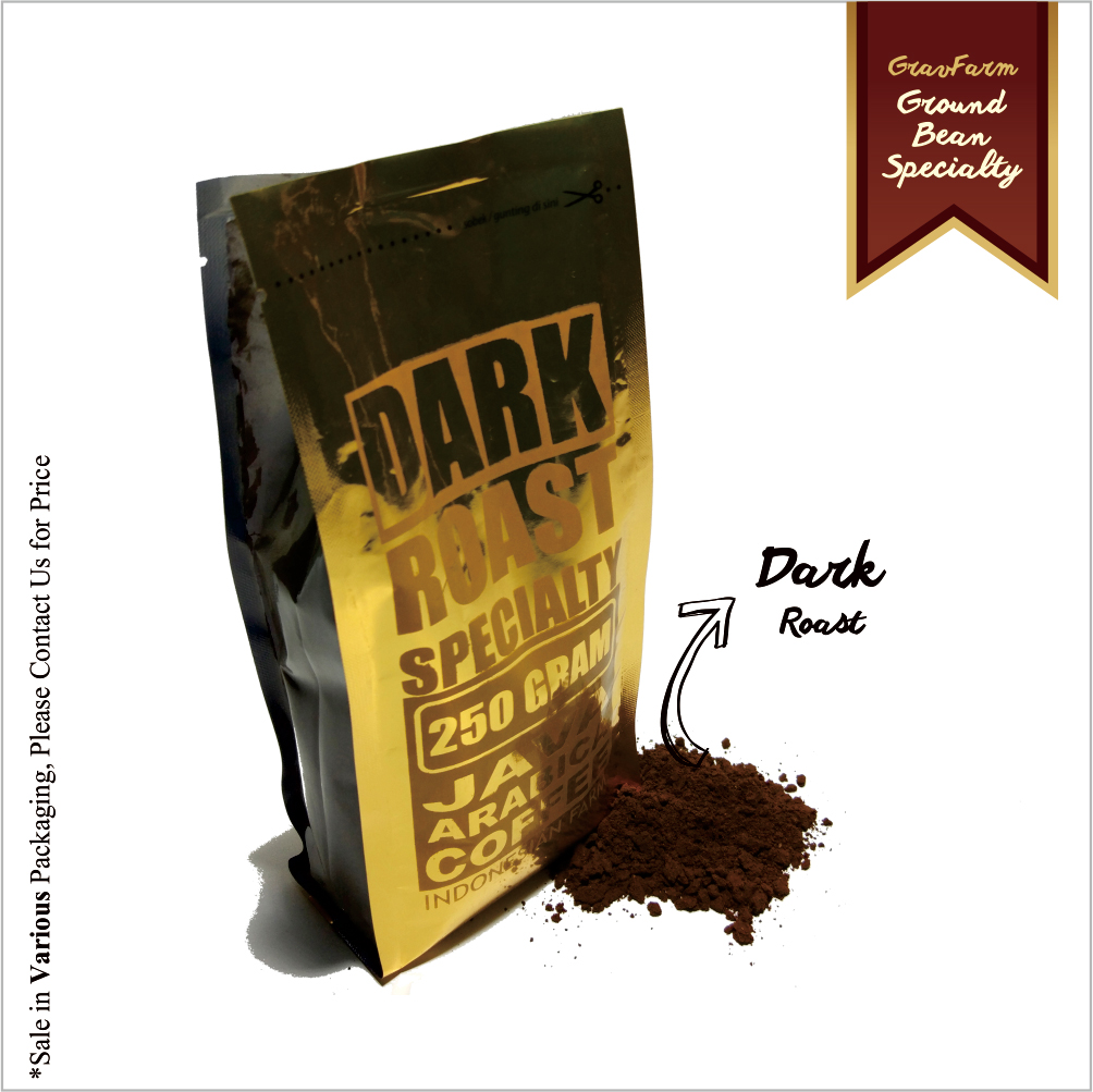 Ground Bean Dark Roast Specialty