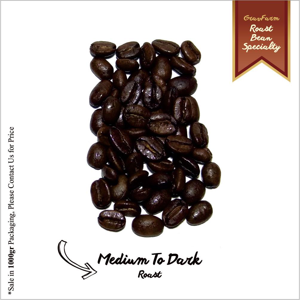Roast Bean medium to Dark